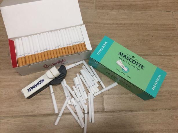 Dobra jakość na rynku gilzy do tytoń-iu