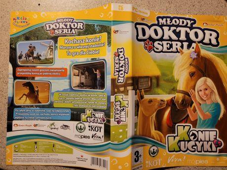 PC CD-ROM Młody doktor z serii Konie i kucyki 2009 Techland