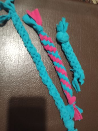 Трепалка, жгут, развивающая игрушка для щенка, собаки