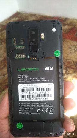 Продам телефон Leagoo M9 на запчасти или под восстановление