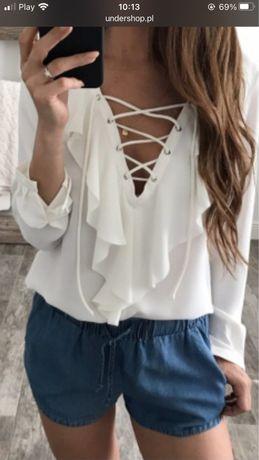 Biała koszula , r M