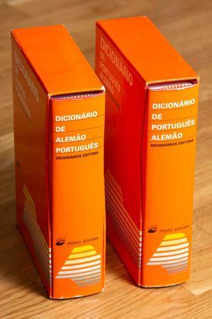 Dicionários de Alemão-português e Português-alemão
