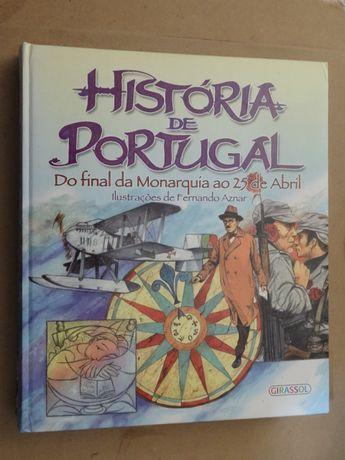 História de Portugal de Vários - 2 Volumes