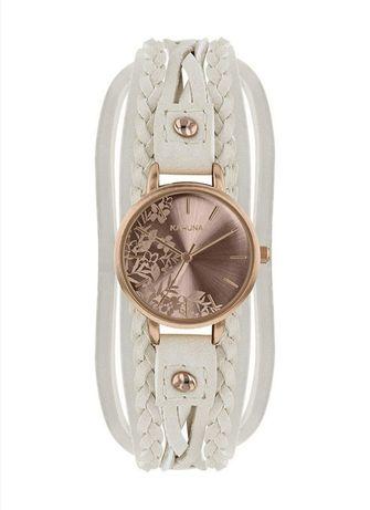 Relógio KAHUNA Beige/Rosa Mulher