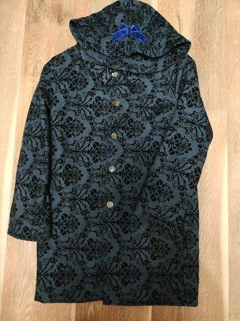 Моне Mone школьная форма пальто плащ и шляпа 134 140 146