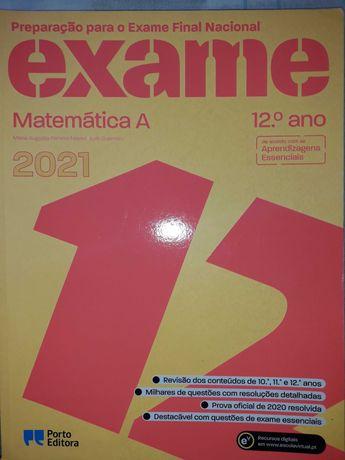 """Livro """"Preparação para o Exame Final Nacional de Matemática A"""""""