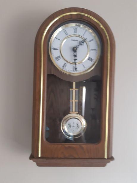Zegar ścienny skrzynkowy J.Schrenk