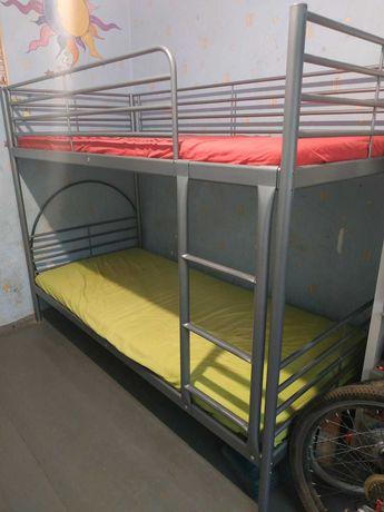 Кровать детская 2-ярусная  IKEA SVARTA  102.479.73