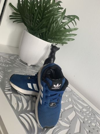 Adidas - niebieskie - buty - chlopiece - r. 25