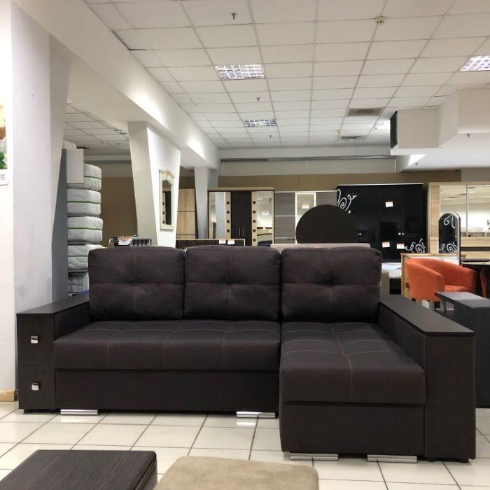 Угловой диван Сиэтл с вышагивающим механизмом в наличии в Мебель в Дом Харьков - изображение 1