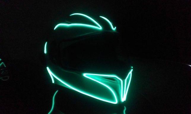 Подсветка мотошлема
