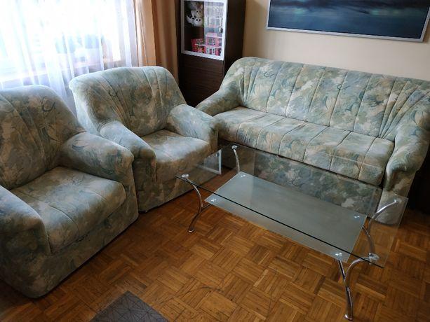 Kanapa Sofa rozkłada z funkcja spania + 2x fotel