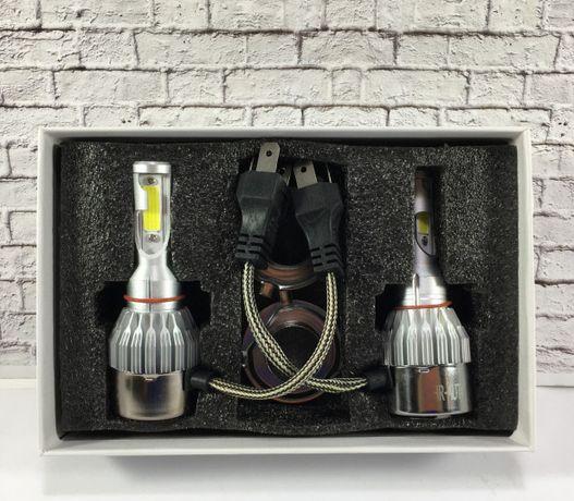Лед лампы для авто. Н4. C6F Led фары. Автолампа H4 аш4 H1,Н3, H7, Н