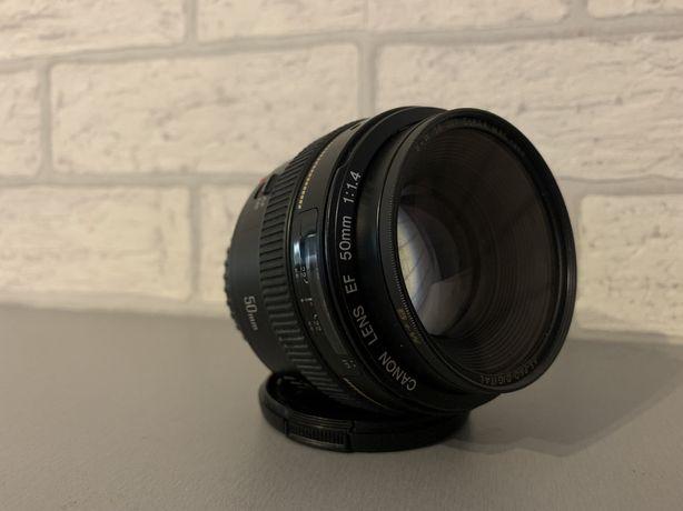 Obiektyw Canon EF 50mm F 1.4