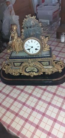Stary francuski  zegar kominkowy