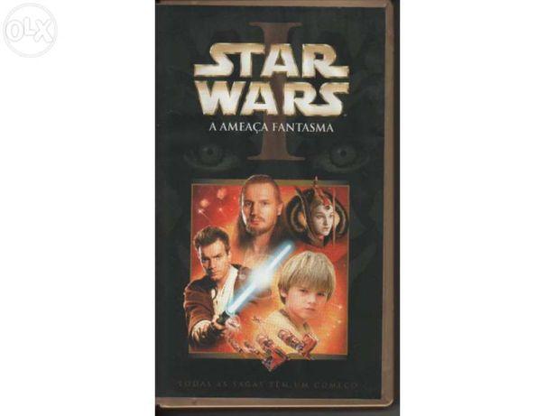 Filme vhs star wars a ameaça fantasma