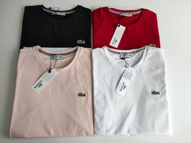 Koszulka Lacoste Damska Premium S-XL Outlet