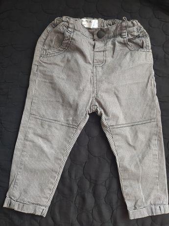 Spodnie rurki 5 10 15 chłopięce rozmiar 80