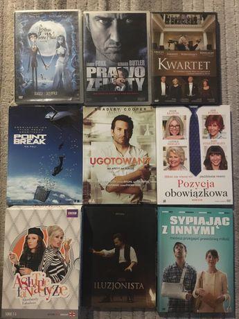 Zestaw filmów na DVD