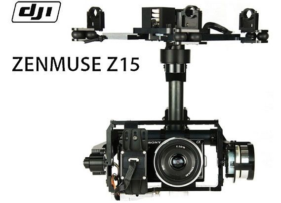Подвес DJI Zenmuse Gimbal Z15-N Sony Version