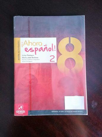 Ahora Espanhol 8 - como novo!!1