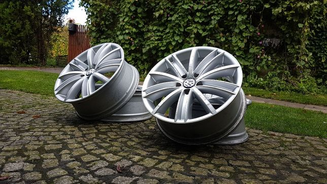 "Felgi Tiguan 18"" 5x112 Passat Caddy Golf t4 Sharan Phaeton Touran"