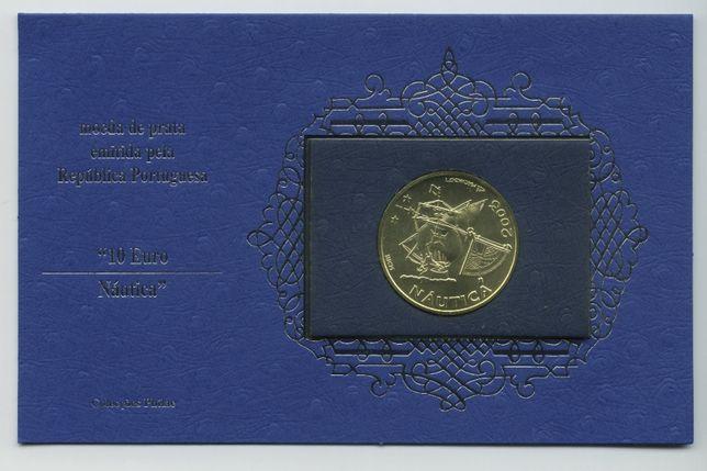 4 moedas comemorativas 10 € em prata