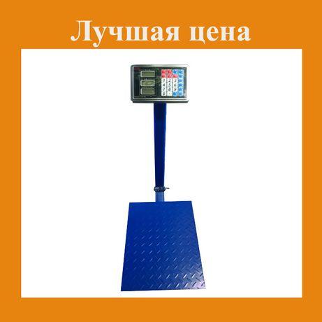Электронные весы 300кг с усиленной платформой. Новые!