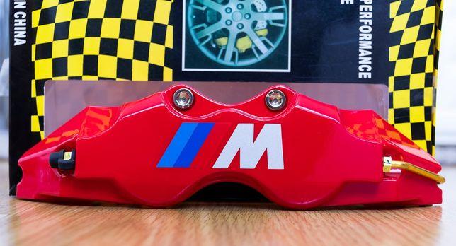 Capas para pinças de travões BMW MIII na core vermelho e Azul
