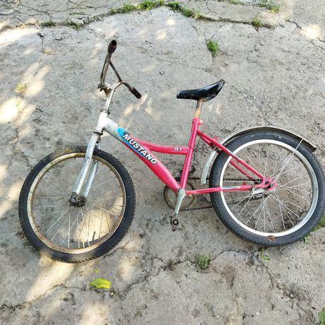 Детский велосипед .диаметр колес 50 см.
