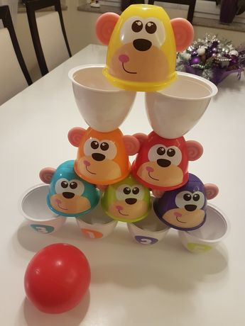 Chicco Fit & Fun Bowling kolorowe kręgle