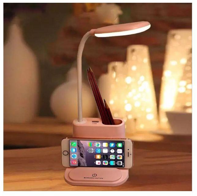 Лампа настольная с USB выходом гибкая сенсорная от ЮСБ светильник Киев - изображение 1