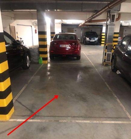 Miejsce parkingowe w hali garażowej Zielone Tarasy Glinki wynajmę