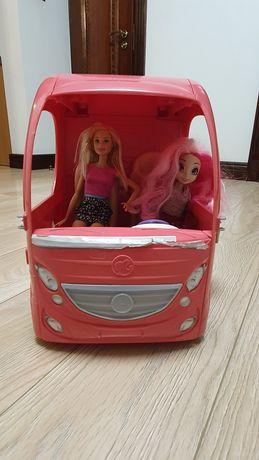 Kamper dla Barbie + lalka