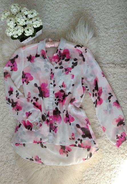 Koszula Bluzka w kwiaty George