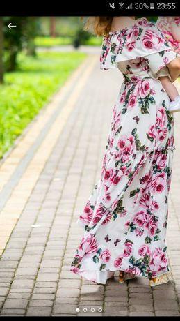 Платье длинное плаття довге сукня довга максі