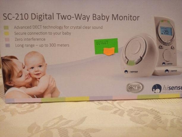 Niania elektroniczna digital two way baby monitor sc 210