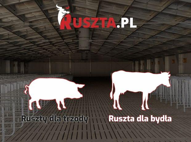 Ruszta betonowe Ruszta dla trzody i bydła