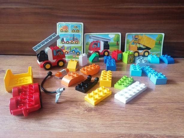 Lego duplo mix auta pojazdy straż moje pierwsze auto samochód