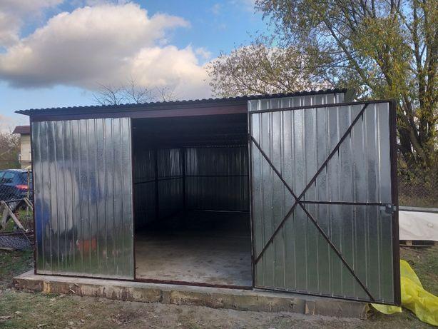 PRODUCENT! Garaż blaszany wiaty Konin blaszak garaże blaszane Września