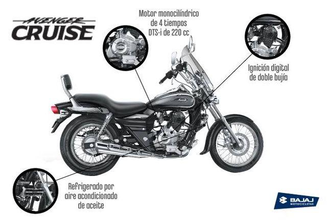 Акція !! Мотоцикл BAJAJ AVENGER CRUISE 220