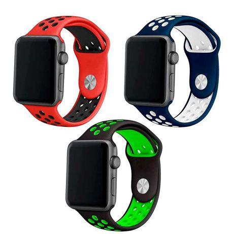 Braceletes silicone Apple Watch Series 1 / 2 / 3 / 4 / 5 / 6 / SE