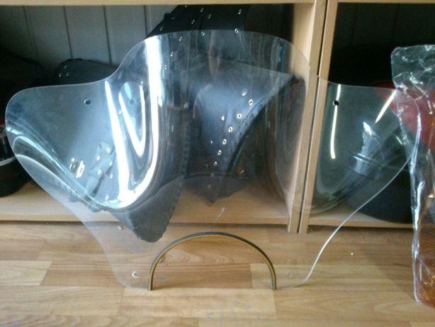 Лобовое стекло широкое для мотоцикла ветровик ветровое с креплением