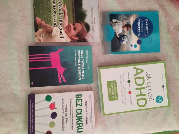 Książki o tematyce ADHD