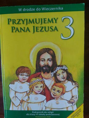Przyjmujemy Pana Jezusa kl.3 książka oddam
