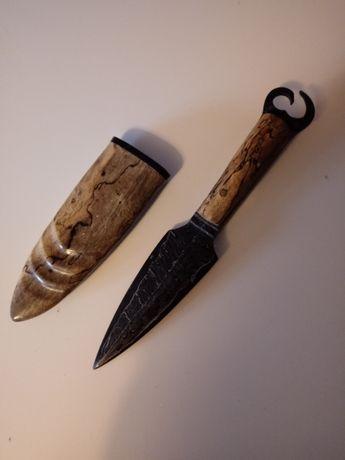 Nóż damast custom knifemaker Mark Antony Knives