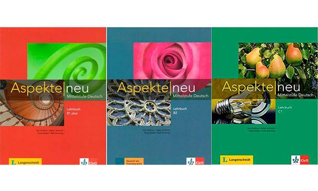 Aspekte neu B1+, B2, C1 PDF 1, 2, 3 Teil 1, Teil 2 PDF