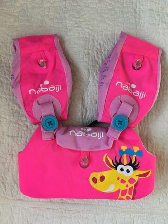 Pas wypornościowy z rękawkami do pływania Nabaiji 15-30 kg