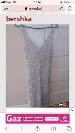 Obcisła sukienka XS S bershka na sylwestra sylwestrowa