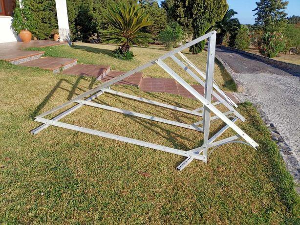 Estrutura Alumínio Painel Solar
